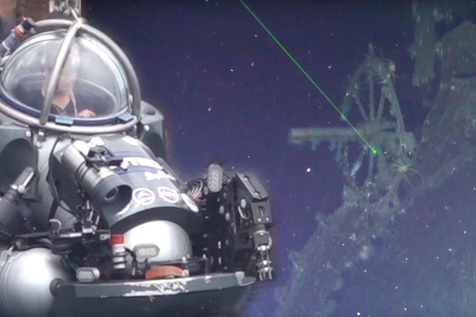 Nach der Entdeckung des verschollenen Kriegsschiffes hoffen die Forscher, auch das vermutete Gold im Wrack zu finden.