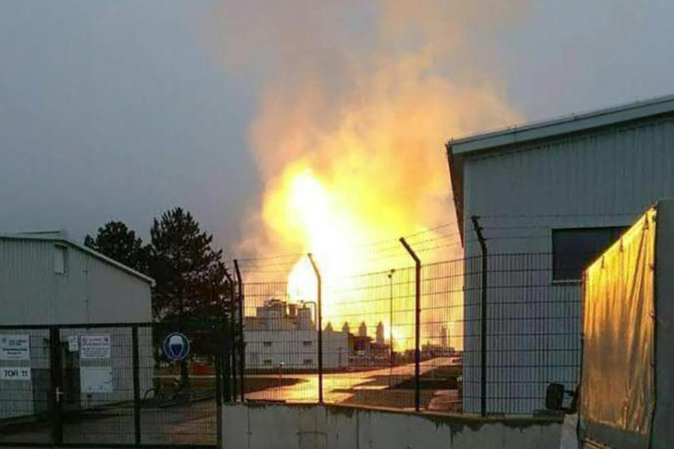 Eine Gasstation war explodiert.