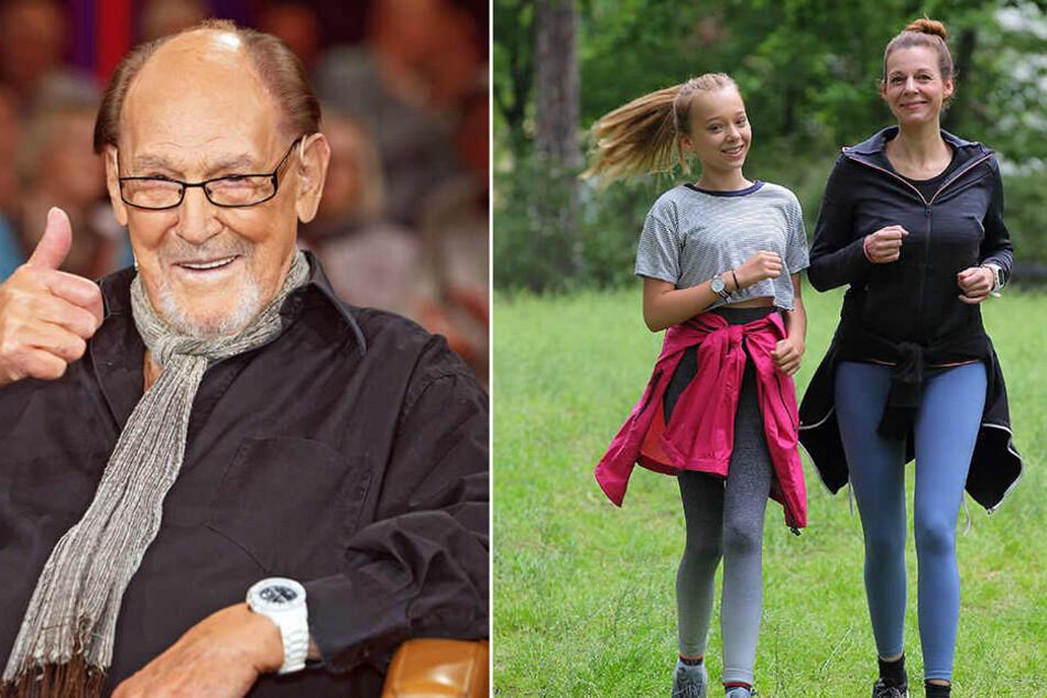 Köfers Tochter Mirjam läuft bei der Rewe-Team-Challenge allen davon