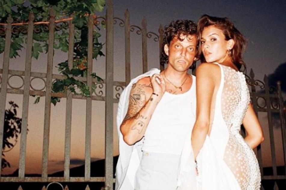 Carl Jakob und Giannina bei ihrer Hochzeit in Sizilien.