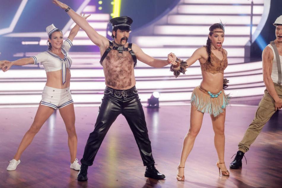 "Oliver Pocher performt in der RTL-Tanzshow ""Let's Dance""."