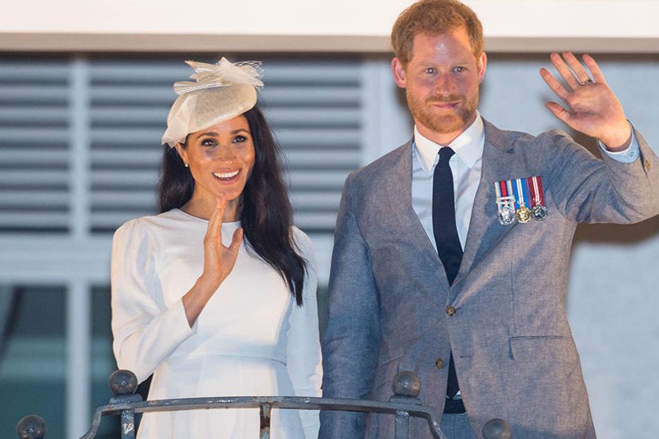 Harry und Meghan freuen sich auf ihren ersten Nachwuchs.