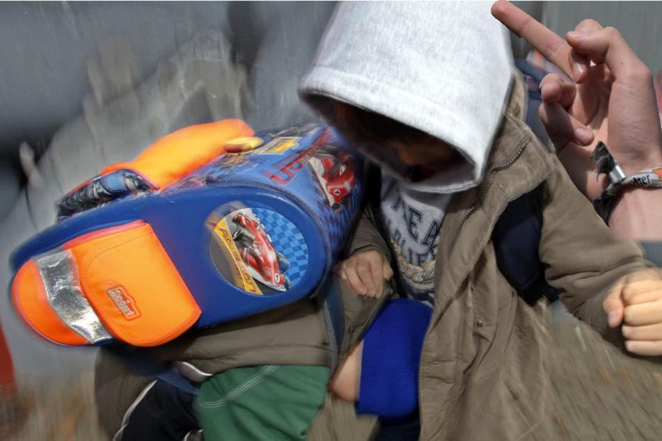 Wegen einer frechen Geste wurde der Junge von einem der Angreifer mehrfach geschlagen.