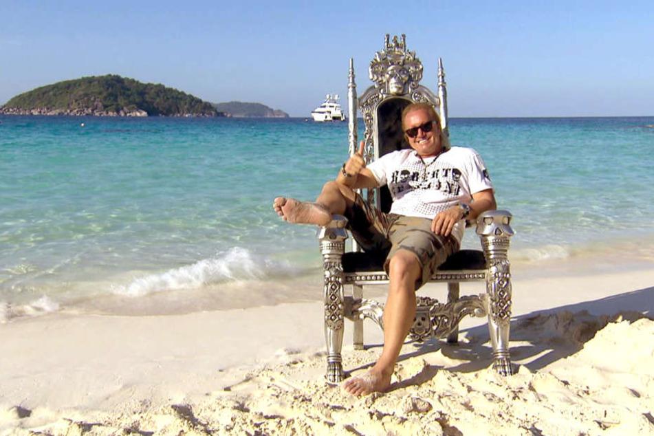 Robert Geiss möchte Insel-Besitzer in Thailand werden.