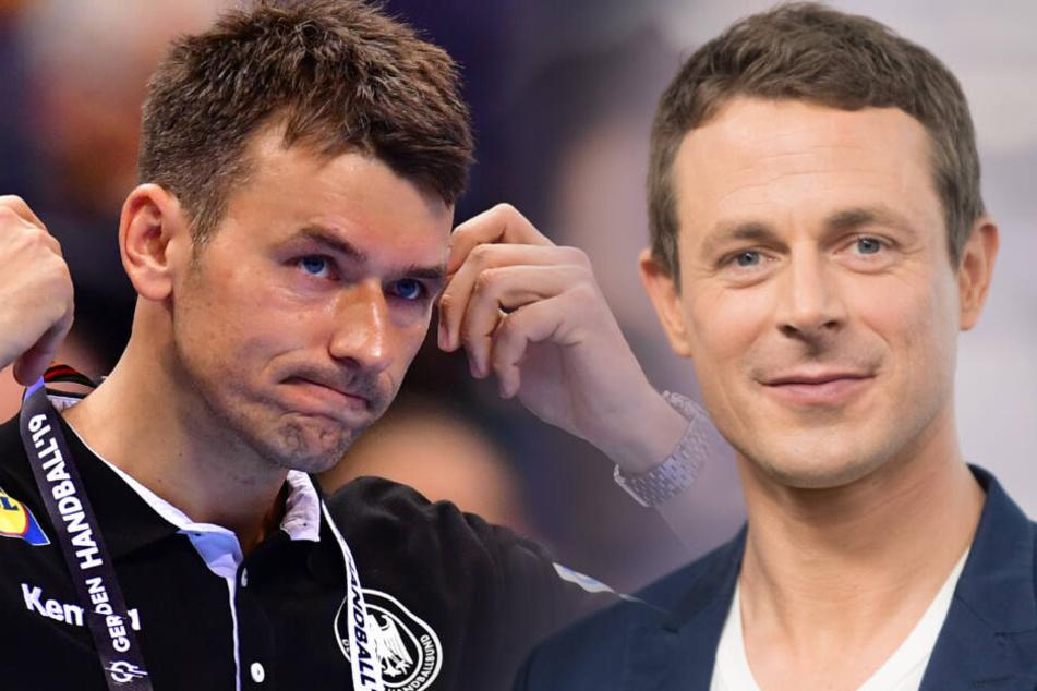 Bundestrainer Christian Prokop (links) konnte nicht über die Fragen von Alexander Bommes lachen.