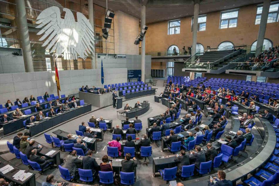 Müssen Politiker statt im Bundestag bald in Containern arbeiten?