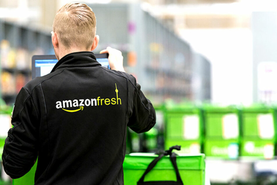 """""""Amazon Fresh"""" liefert frische Lebensmittel bis an die Haustür."""