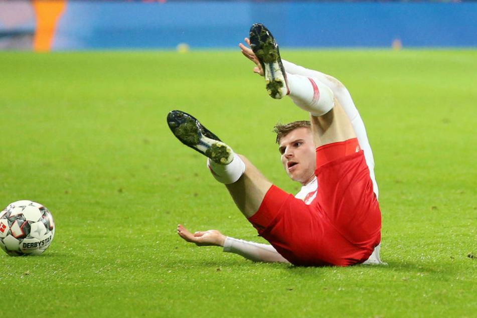 Mit elf Toren und zwei Vorlagen war Timo Werner der erfolgreichste Leipziger in der Bundesliga-Hinrunde. Spätestens im Sommer wird seine Zukunft geklärt sein.