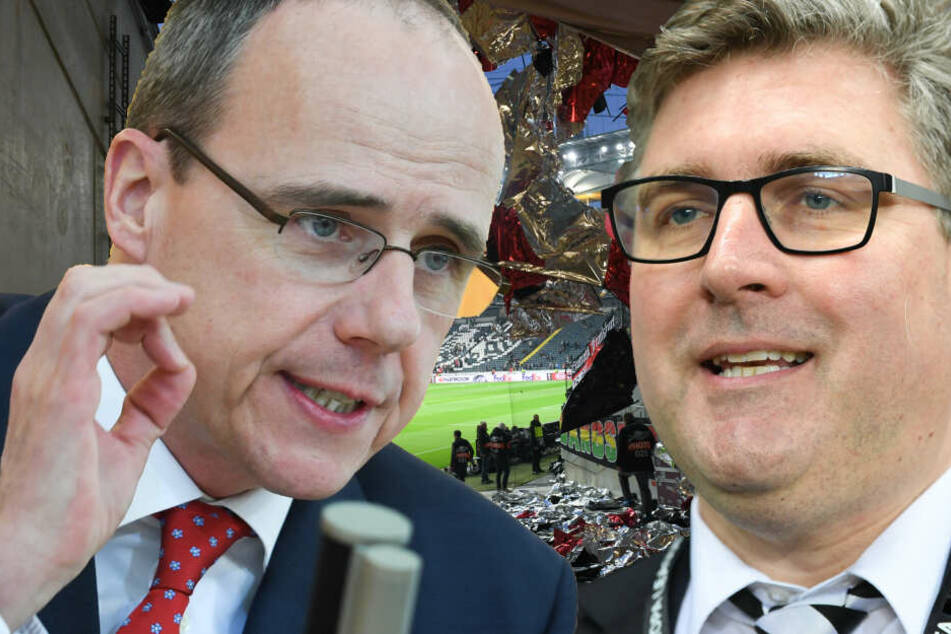 Fotomontage: Die Eintracht hat nun offiziell Beschwerde vor dem Amtsgericht in Frankfurt eingelegt.