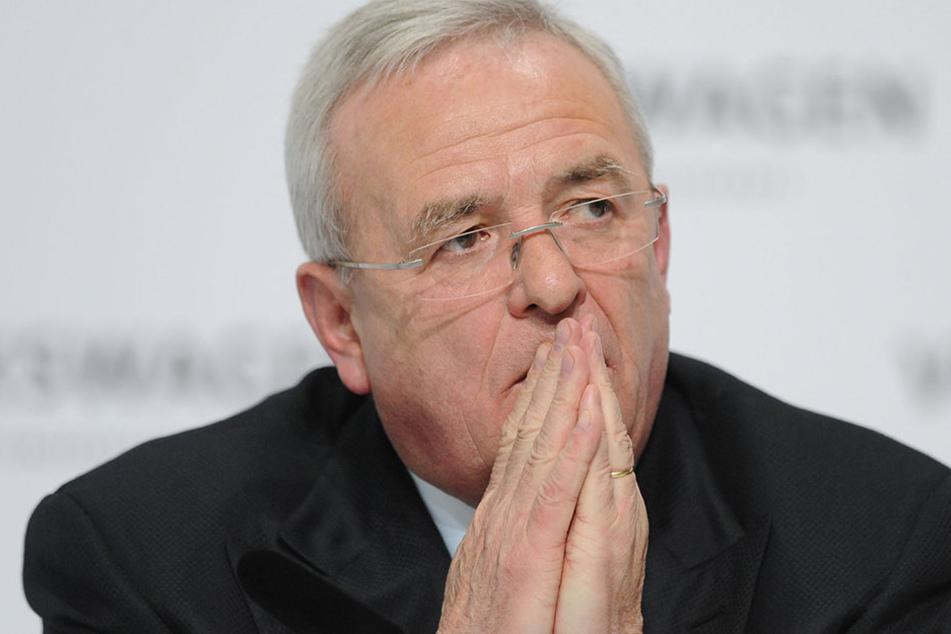Der damalige Vorstandsvorsitzende der Volkswagen AG, Martin Winterkorn.