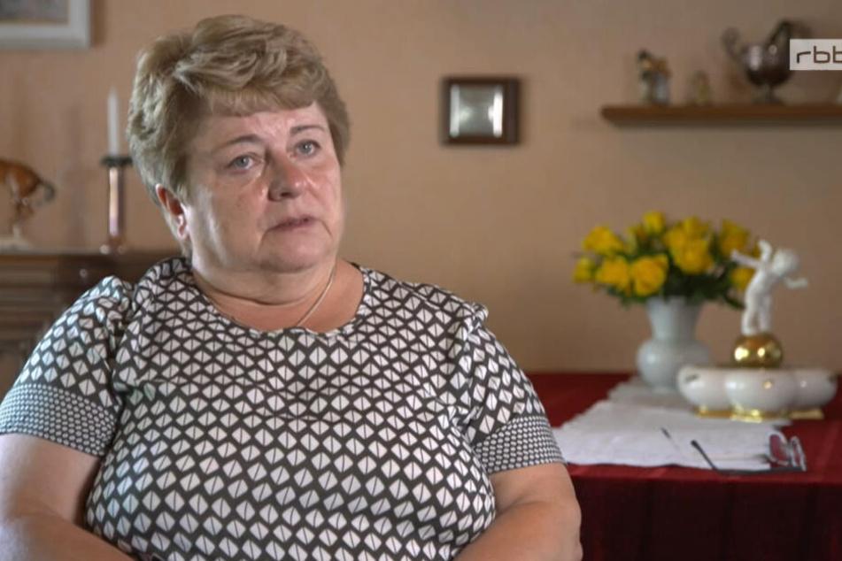 """Martina Angermann sprach in der ARD-Dokumentation """"Kampf ums Land"""" über die Anfeindungen."""