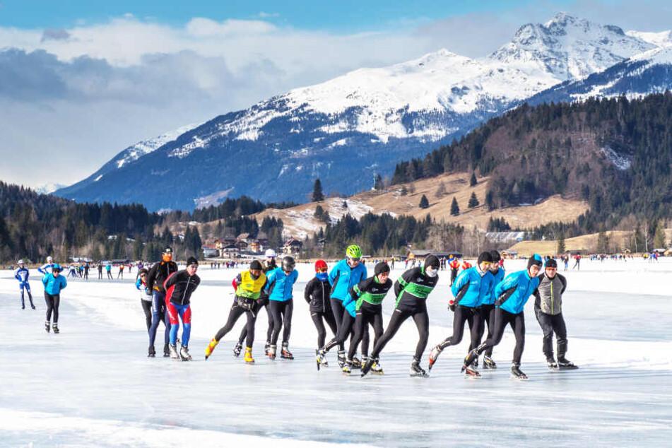 Der beliebte See wird, sofern er zugefroren ist, oft zum Schlittschuhlaufen benutzt (Archivbild).
