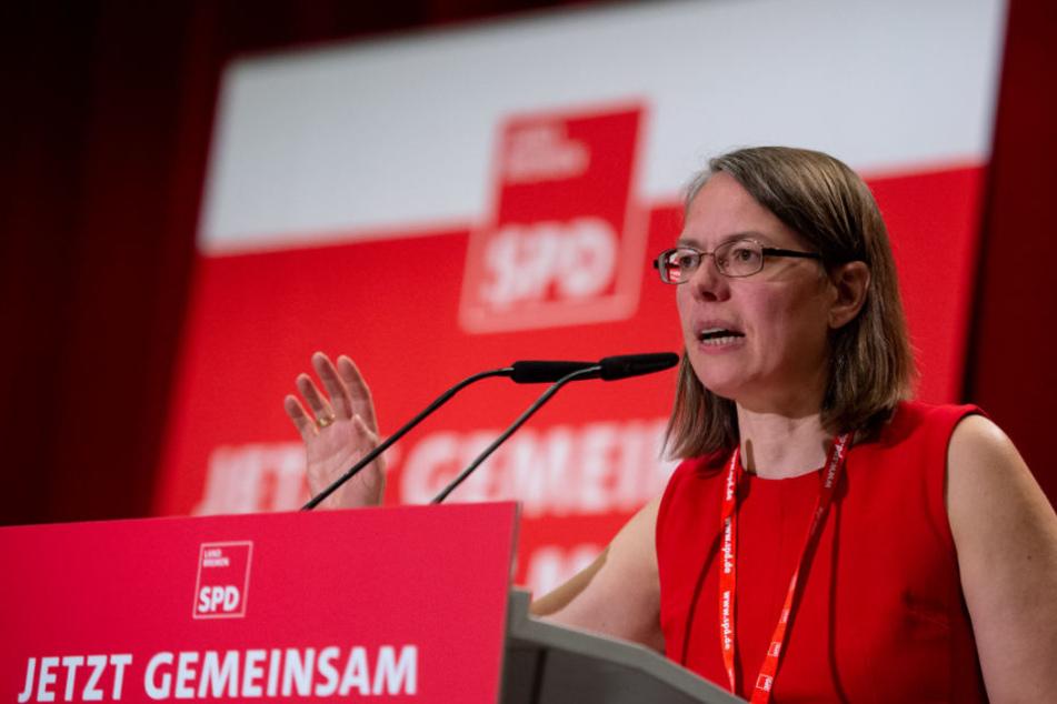 Sascha Karolin Aulepp, Landesvorsitzende der SPD Bremen, hat Horst Seehofer scharf angegriffen.