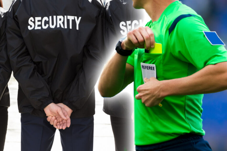 Beim Friedenauer TSC können sich Schiedsrichter zukünftig besonders sicher fühlen. (Bildmontage/Symbolbilder)