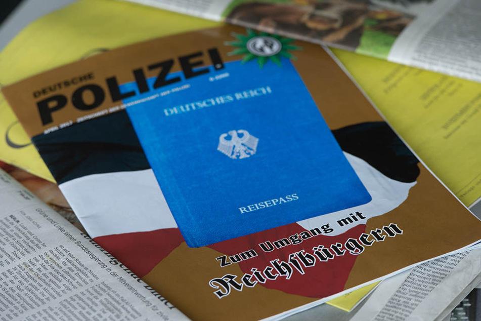 """Polizei warnt: """"Reichsbürger"""" erleben einen Aufschwung"""