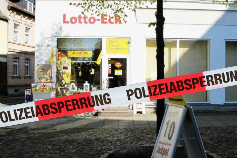Vermummtes Täter-Duo überfällt Lottoladen, die Beute ist ein Witz