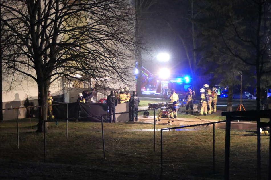 Alle anderen Bewohner des Mehrfamilienhauses wurden evakuiert.