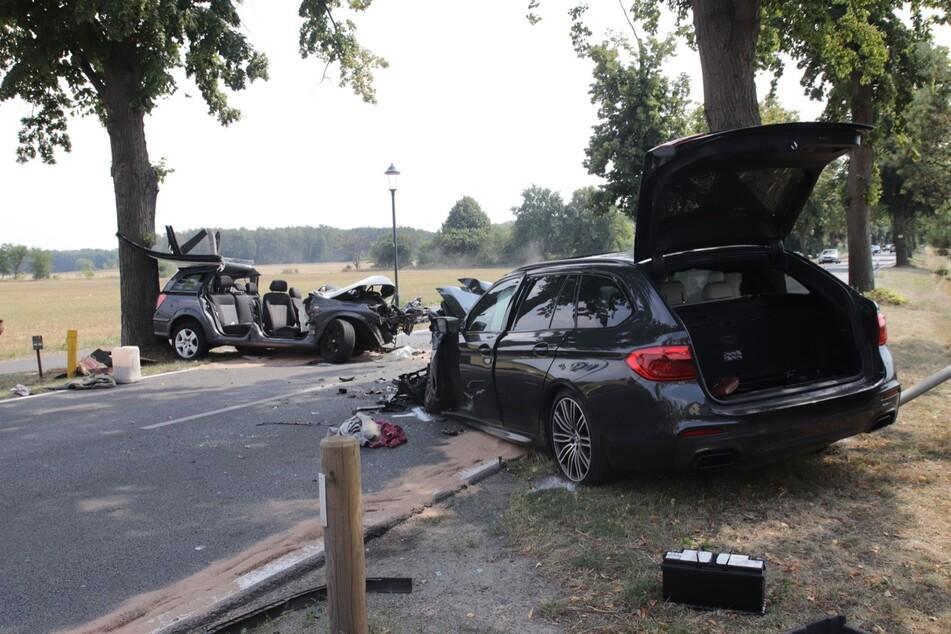 Ein 64-jähriger Mann ist bei dem Unfall verstorben.
