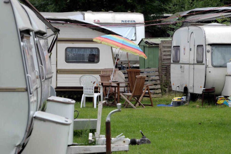 Der Campingplatz in Lohmar wurde Schauplatz eines chaotischen Spektakels.