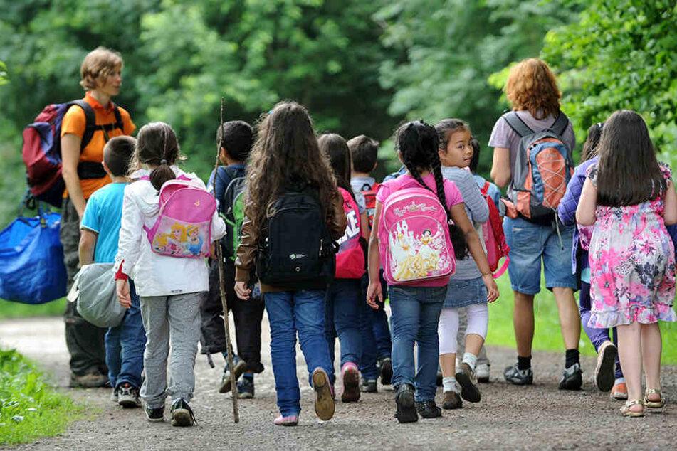 Kostenlose Freizeitgestaltung für Kinder, wie ein Ausflug in die Natur, kommt in vielen Städten zu kurz.