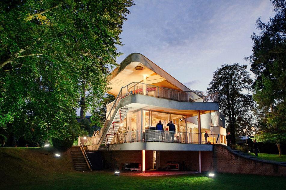 Das Haus Schminke ist für seine Architektur weltberühmt.