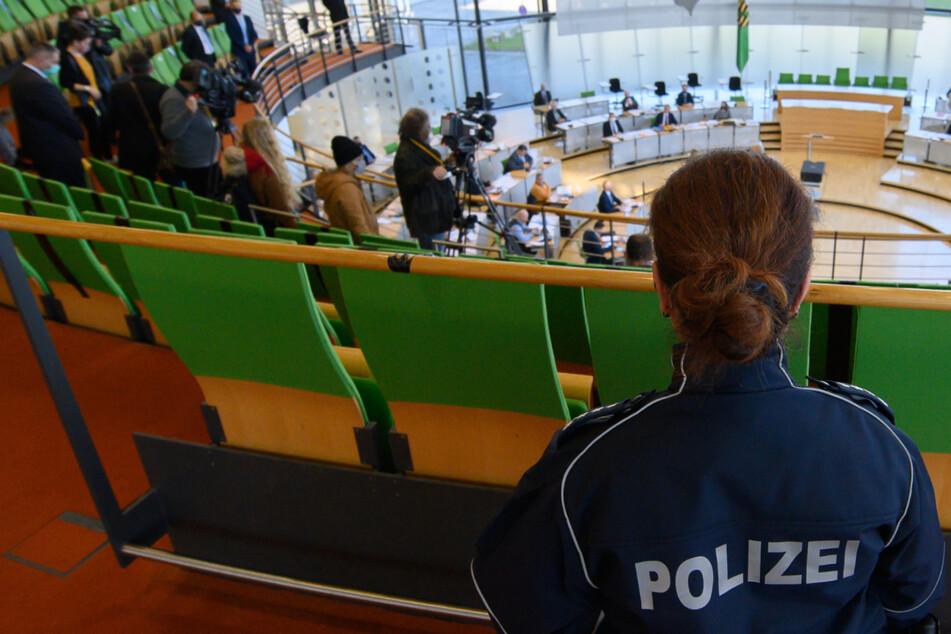 Nach Demo-Chaos in Leipzig: Sondersitzung im Landtag wird zum Schuld-Verschiebebahnhof
