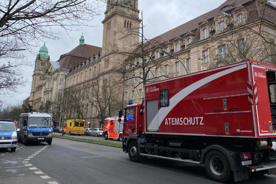Feuer im Kriminalgericht: Mutmaßlicher Brandstifter hatte Gerichtstermin