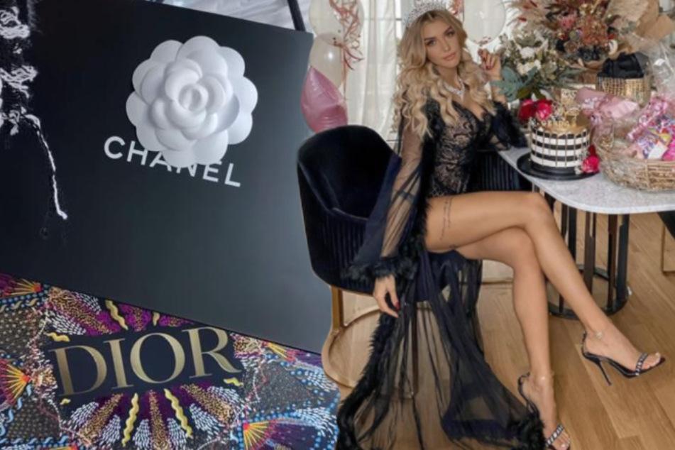 Heiße Dessous und Luxus-Shopping: So protzig feierte Gerda Lewis Geburtstag