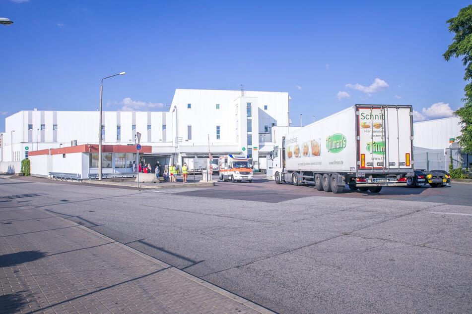Am Tönnies-Standort in Weißenfels wurde ein Mitarbeiter positiv auf Corona getestet.