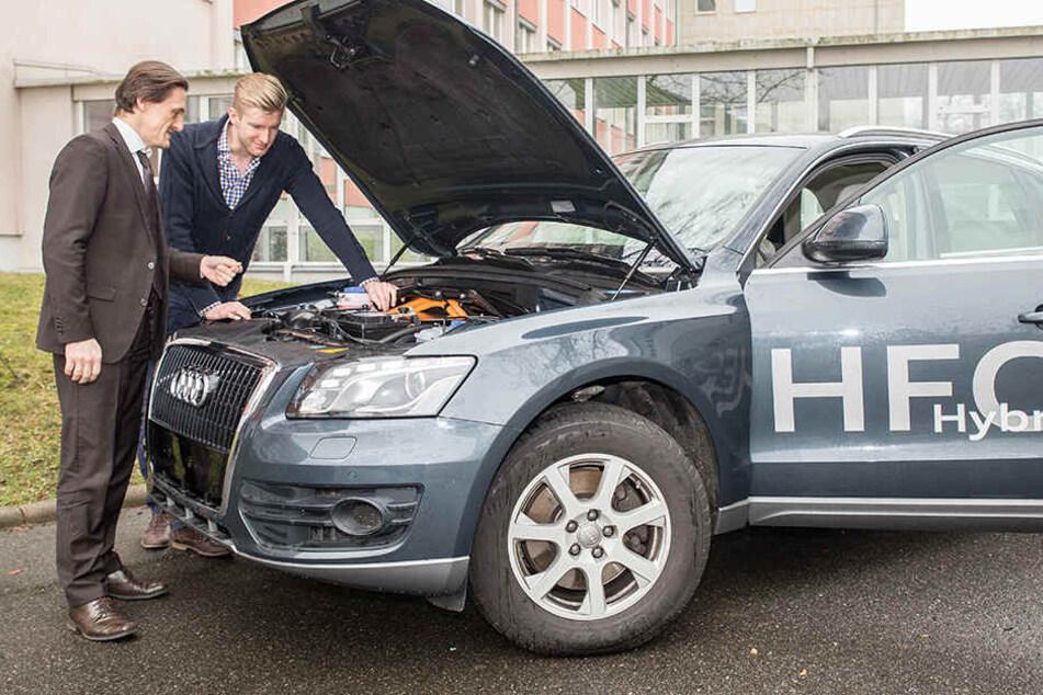 Sachsen gibt 1,6 Mio. Euro für das Auto der Zukunft