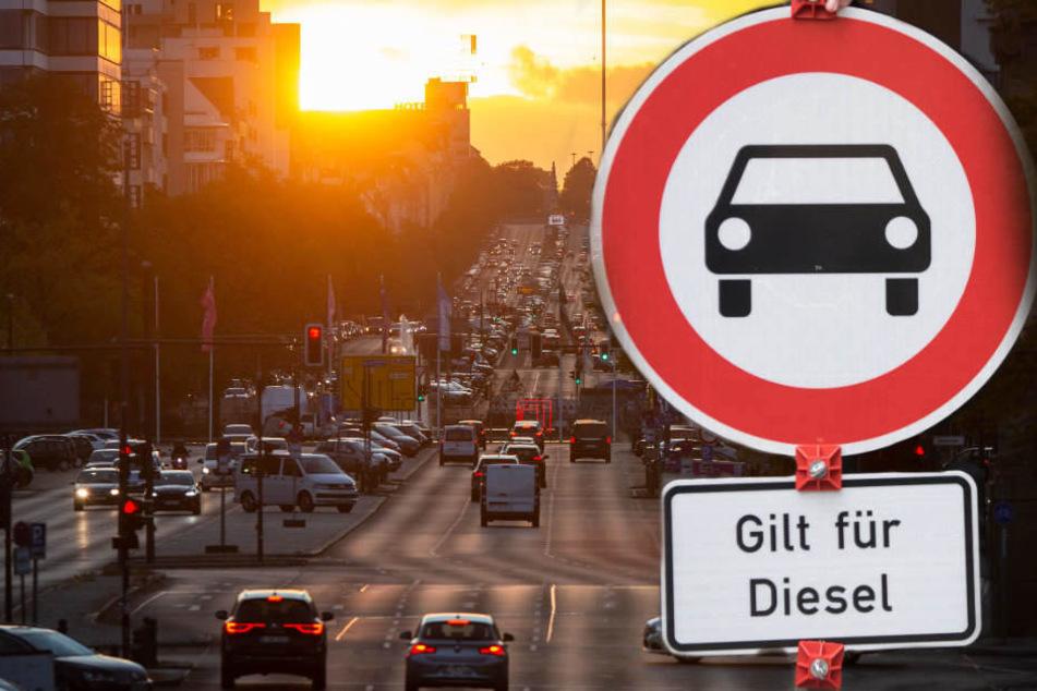 Ab Ende Juni 2019 gelten auf elf Berliner Straßenabschnitten Fahrverbote für alte Diesel-Stinker. (Symbolbild)