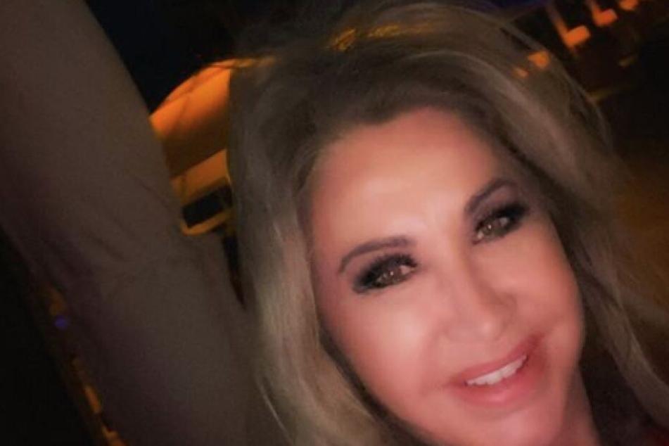 Carmen Geiss auf einem Selfie in Miami.