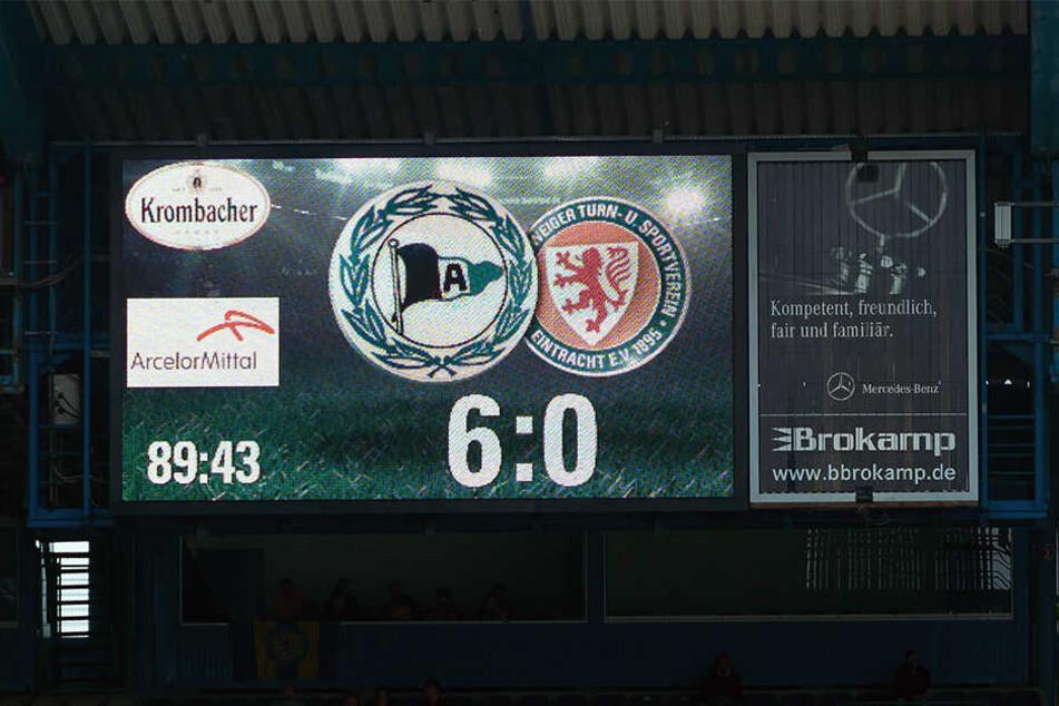Beim letzten Aufeinandertreffen besiegte der DSC Braunschweig mit 6:0.