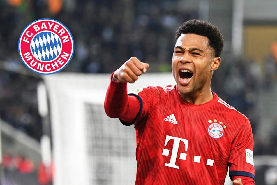 Gnabry bleibt bis 2023! Bayern München verlängert Vertrag