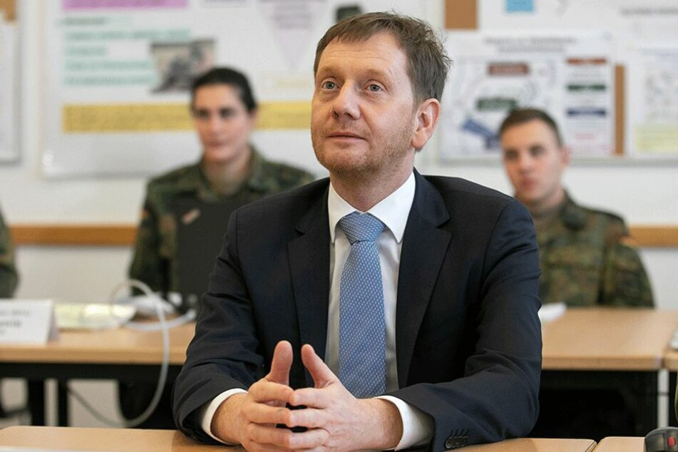 Laut Prognose steigt seine Chance auf ein Direktmandat: Ministerpräsident Michael Kretschmer (43, CDU).