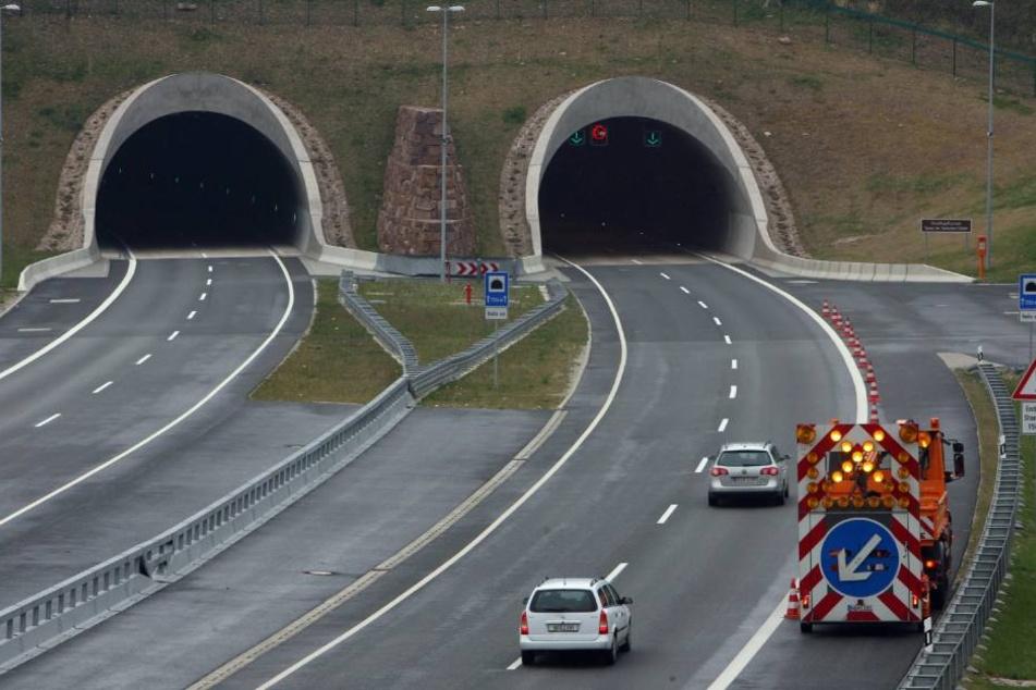 Der Heidkopftunnel der A38 verbindet Thüringen und Niedersachsen.