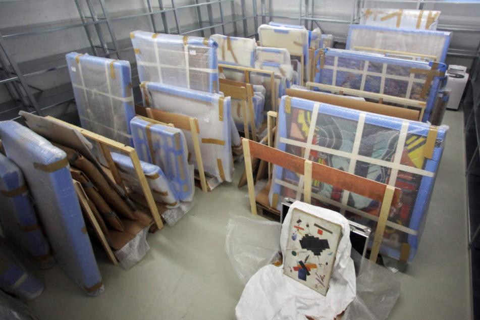 Rund eine Million Euro erbeuteten die Kunst-Fälscher mit ihren Werken.