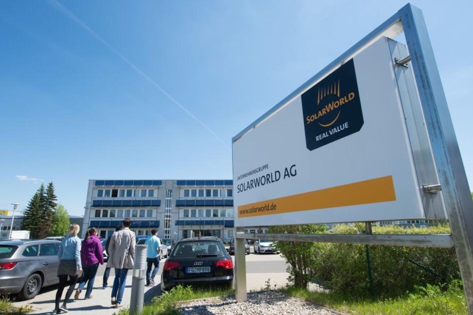 Das Solarworld-Werk in Freiberg.