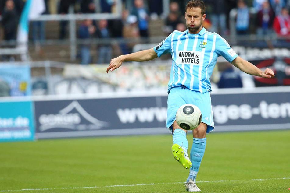 77 Drittligaspiele hat Marc Endres für die Himmelblauen bestritten. In dieser  Saison stand der Innenverteidiger erst zehn Mal auf dem Platz, zuletzt im  November beim 3:0 in Wiesbaden.
