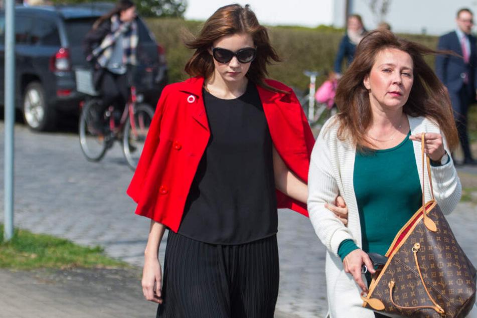 Nathalie Volk begleitet ihre Mutter zum Gerichtsprozess. (Archivbild)