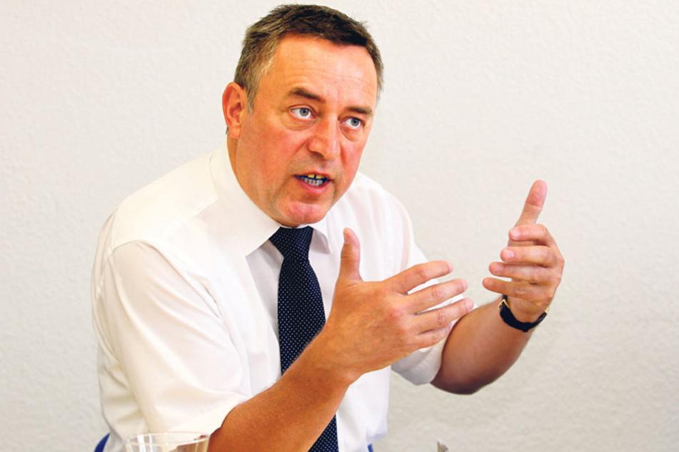 """""""Aktionismus"""": Oberbürgermeister Ralf Oberdorfer (56, FDP) kritisiert die  Landesregierung."""