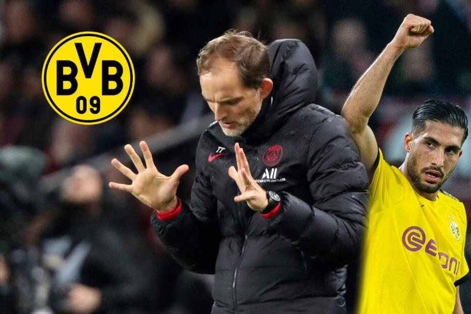 BVB fordert Paris heraus: Thomas Tuchel warnt vor dieser Stärke seines Ex-Klubs