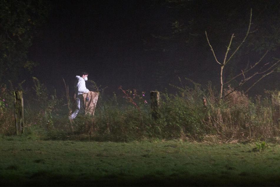Die Babyleiche wurde in einem Mülssack in der Nähe eines Teichs gefunden.