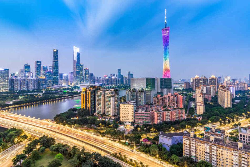 Die Maschine war im chinesischen Guangzhou gestartet.