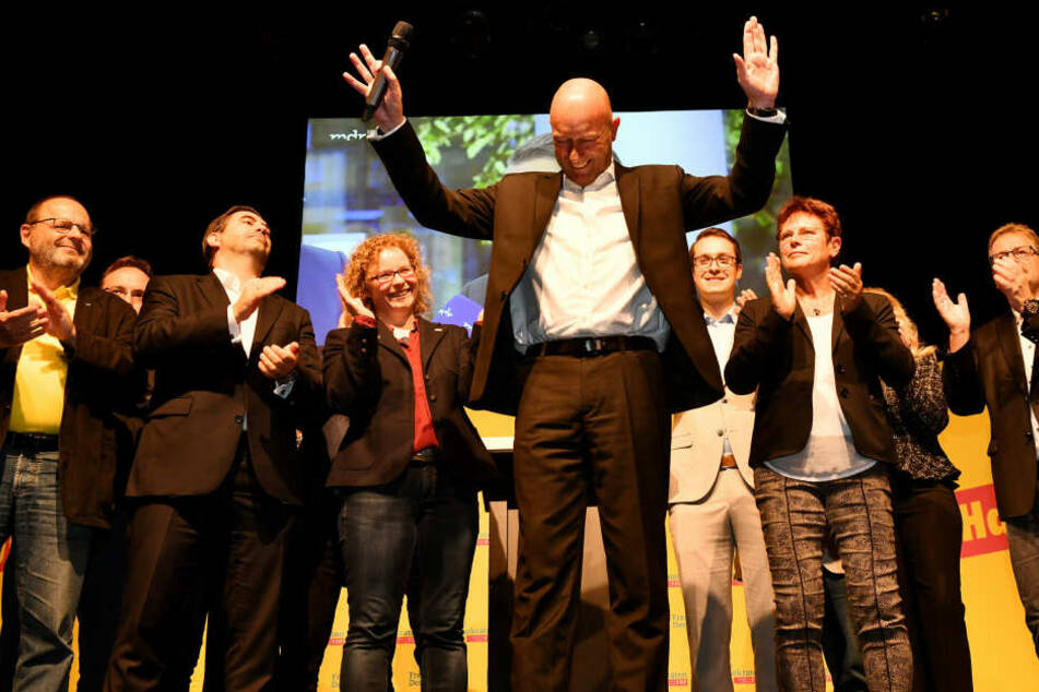 Spitzenkandidat Thomas L. Kemmerich kann sich nun über den Einzug in den Landtag freuen.