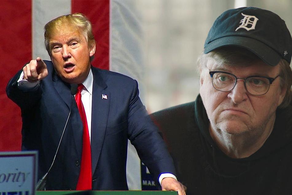 """Michael-Moore-Doku """"Fahrenheit 11/9"""": Das haben Hitler und Trump gemeinsam!"""