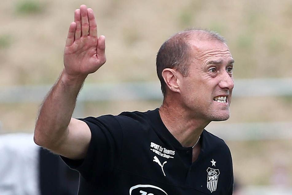 FSV-Coach Joe Enochs hat die Länderspielpause genutzt, um Schwachstellen zu beheben.