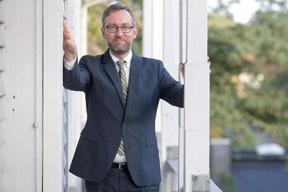 Steht TAG24 Rede und Antwort: Der neue Chef der Landeszentrale.