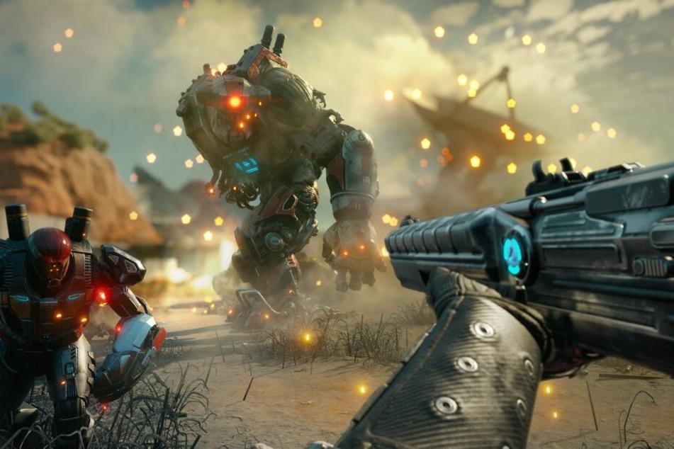 Entwickelt von den Avalanche Studios unter Unterstützung von id Software dürft Ihr Euch auf ein irres Shooter-Feuerwerk mit allerhand coolen Fähigkeiten freuen.