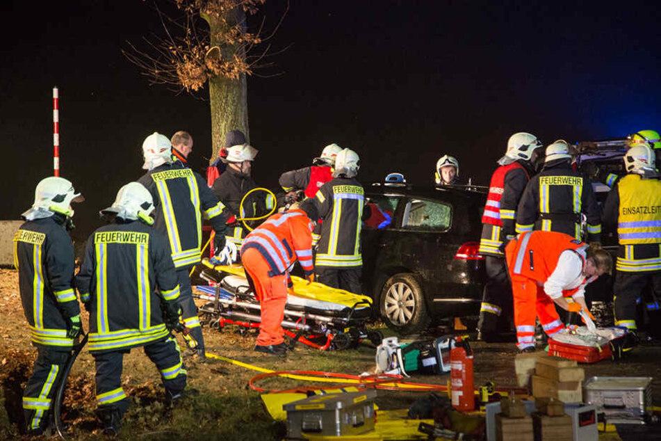 33 Kameraden der Feuerwehren Gersdorf, Möhrsdorf, Steina und Pulsnitz waren im Einsatz.